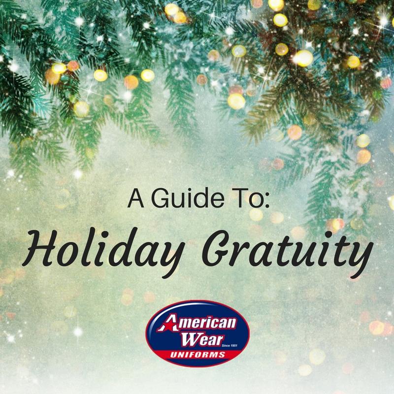 American Wear-Holiday Gratuity