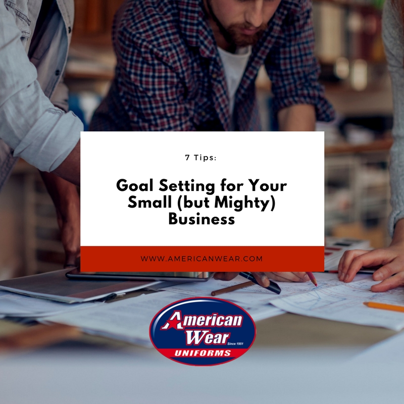 Goal Setting-Small Business