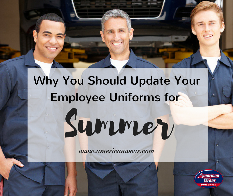 American-Wear-Summer-Employee Uniforms